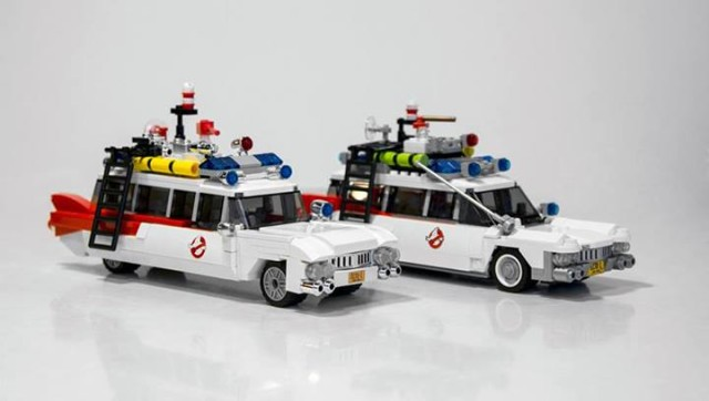 LEGO Ghostbusters Set Comparison
