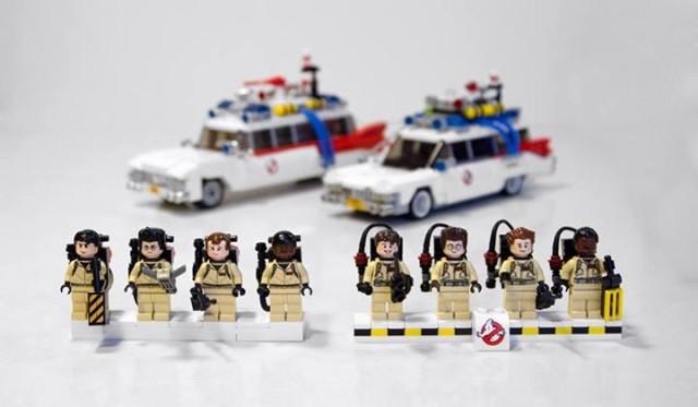 LEGO Ghostbusters Set Comparison