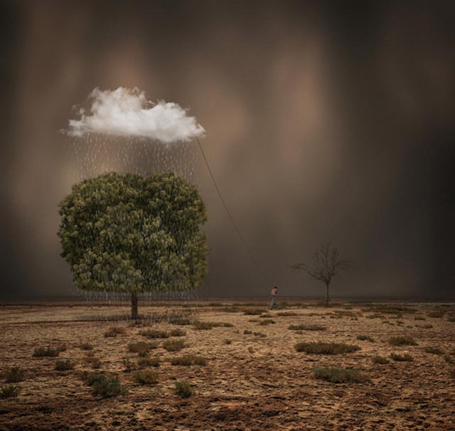 Wonderfully Surreal Manipulated Photos by Hossein Zare