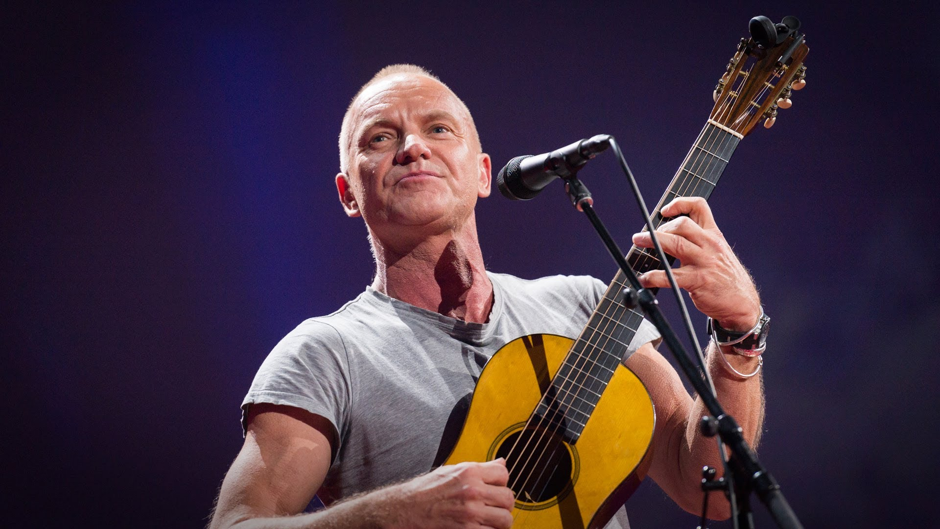 'How I Started Writing Songs Again', A TED Talk by Sting About How He Overcame Writer's Block by Returning Home