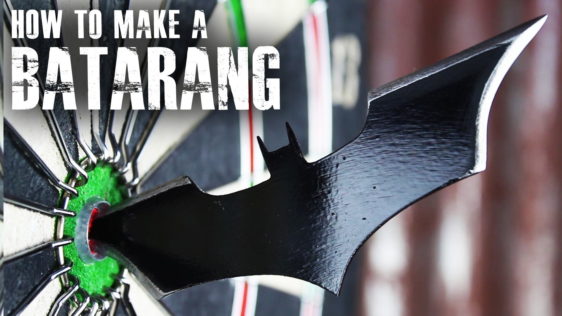 how to make a real life version of batman s batarang out of an old