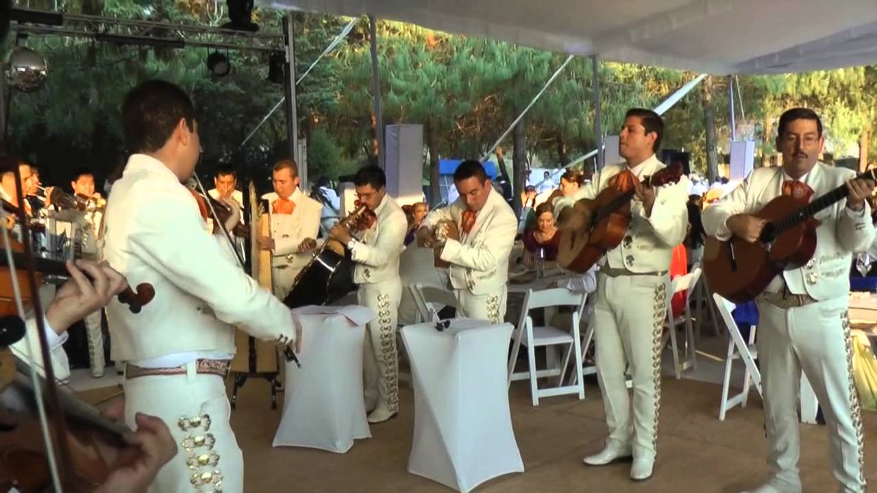 Mariachi Band Performs the \'Super Mario Bros.\' Theme Song at a Wedding