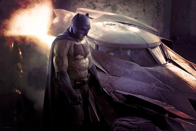 Liam Brazier Batman Color