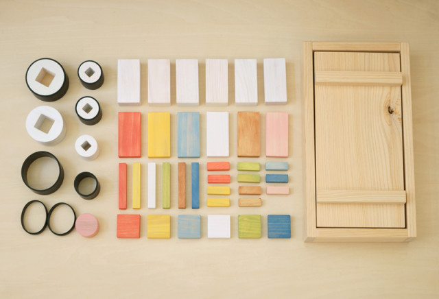 Wooden Sushi Blocks