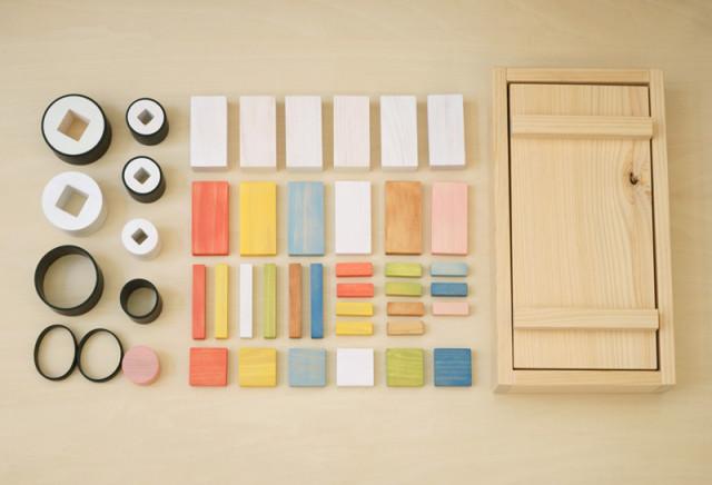 Wooden Sushi Blocks