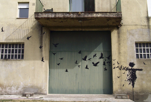 Surreal Paintings and Street Art by Pejac