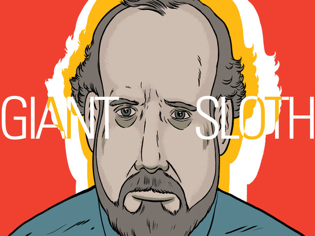 'Giant Sloth', An Animated Short About a Museum Curator Losing His Grip on Reality Featuring Paul Giamatti