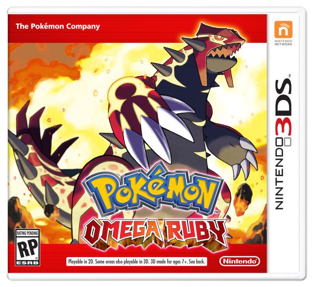 Nintendo 3ds Pokemon Games : Nintendo announces 'pokémon omega ruby and alpha