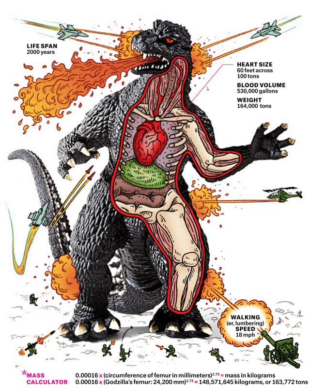 Anatomical Guide That Explores the Impossible Biology of Godzilla