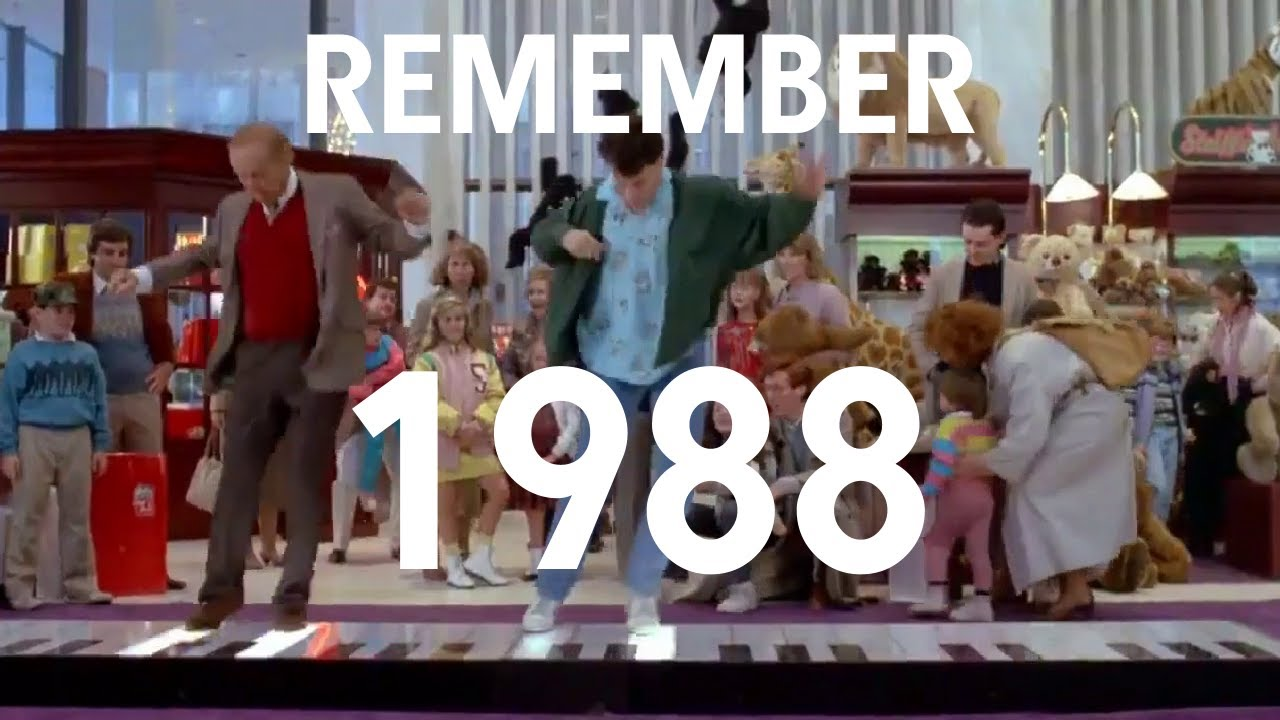 'Remember 1988', A Video Compilation of Popular Culture From 1988