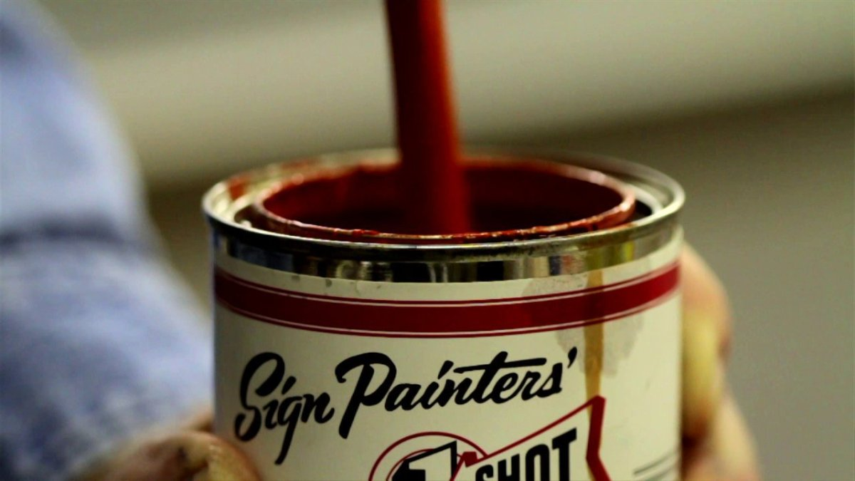 sign painters a documentary about the hand painted sign industry is now available