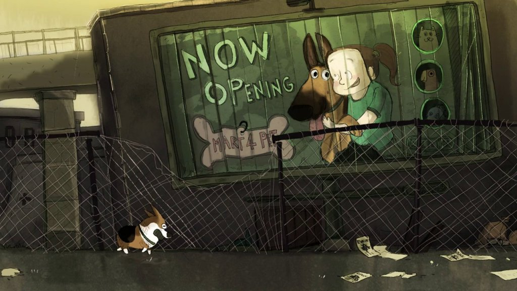 'Steadfast Stanley', A Short Animated Film About The Bond Between Boy and His Dog During A Zombie Apocalypse