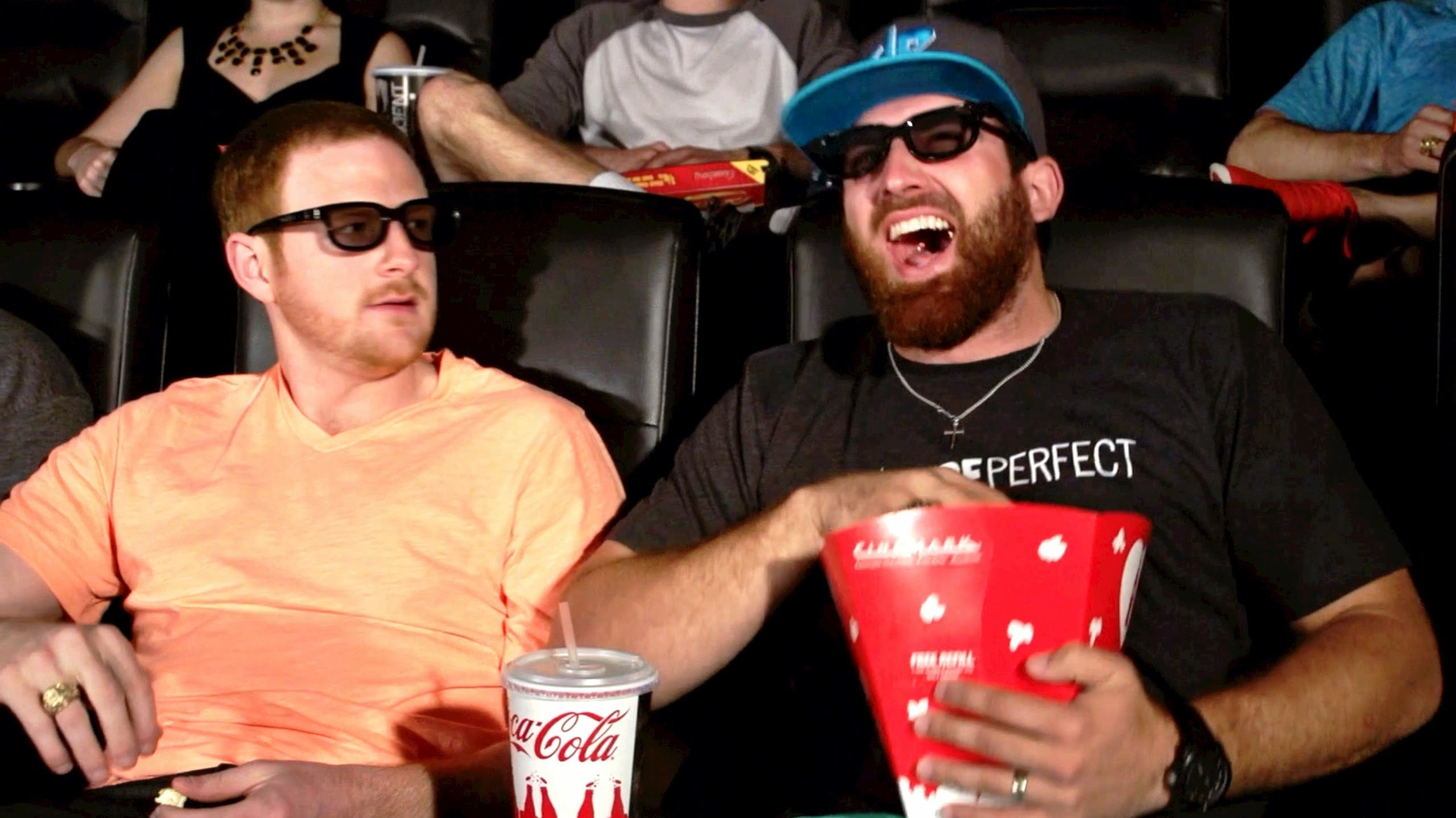 the common stereotypes of people in movie theaters