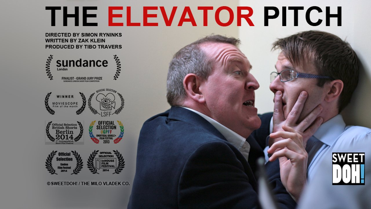 The Elevator Pitch A Short Film About Filmmaking That