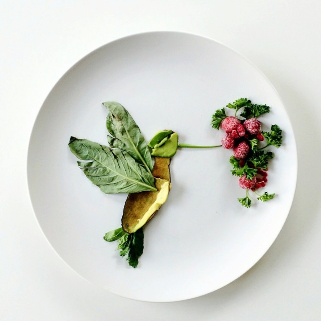 Culinary canvas clever art made out of food by lauren purnell for Gastronomia vanguardista