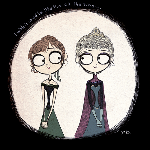 Tim Burton Frozen