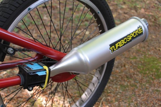 Turbospoke A Fake Exhaust System For Bicycles