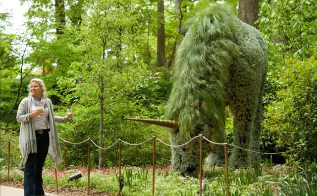 Genial Imaginary Worlds At Atlanta Botanical Garden