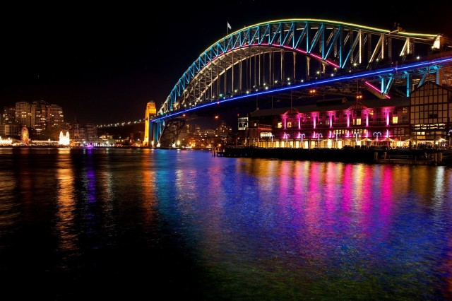 Vivid Sydney, A Festival of Light Art, Music, and Ideas