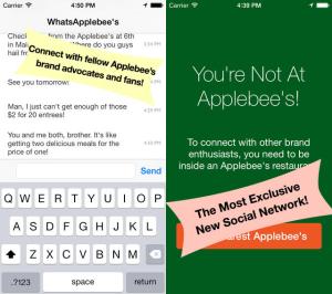 WhatsApplebee's App