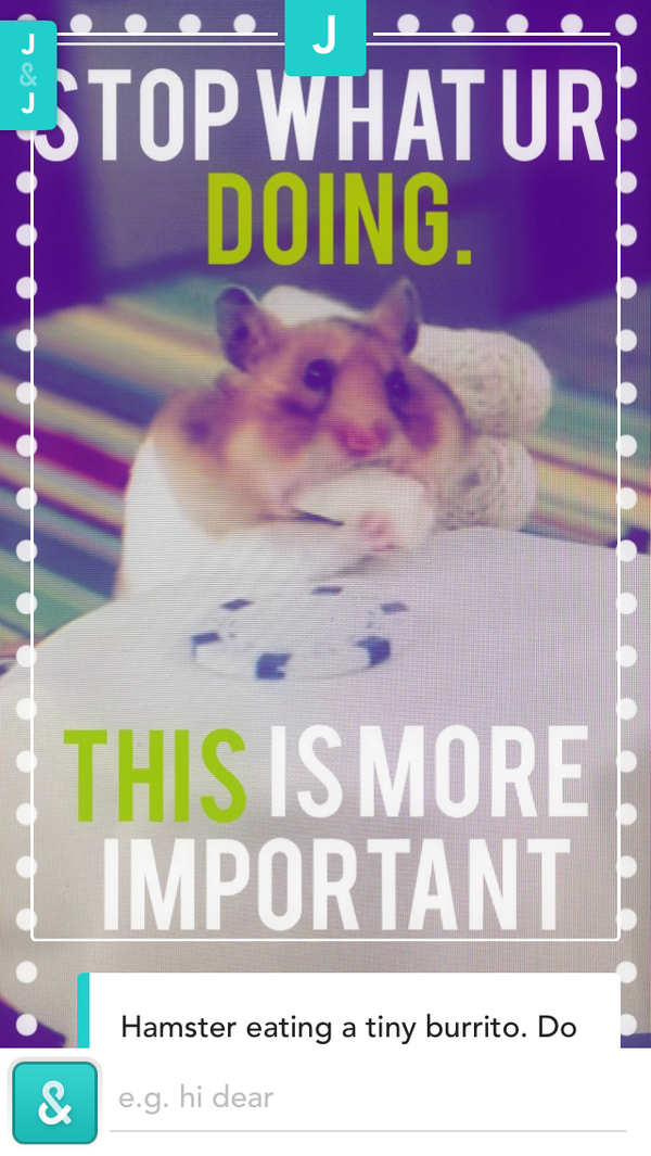 You & Me Hamster