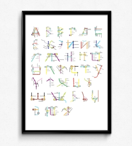 Subway Alphabet