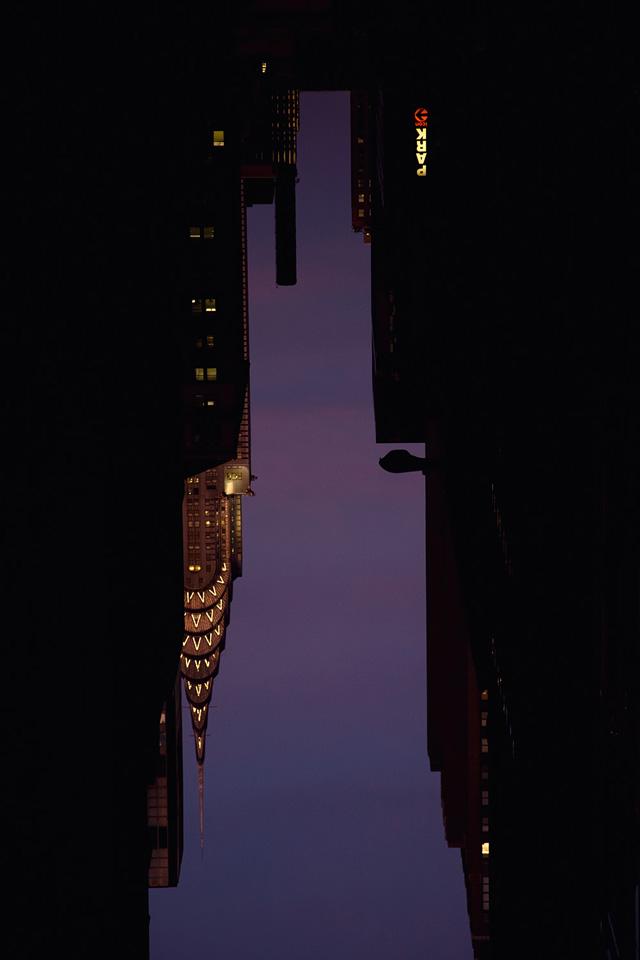 Buildings Made of Sky by Peter Wegner