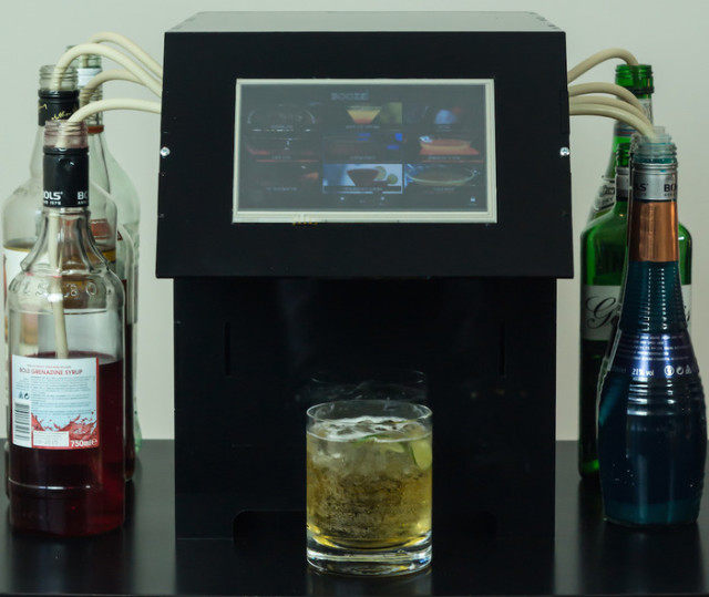 BoozeBot Cocktail-Making Robot