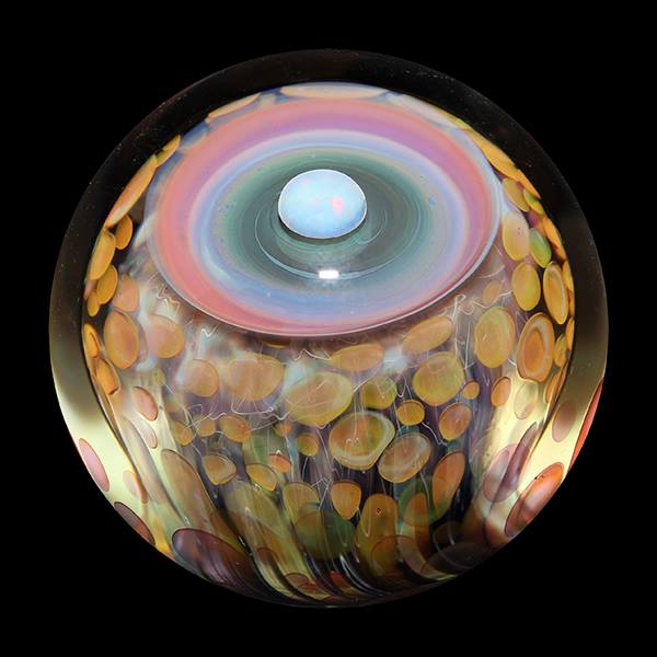 Incredibly Complex Art Marbles by Mike Gong
