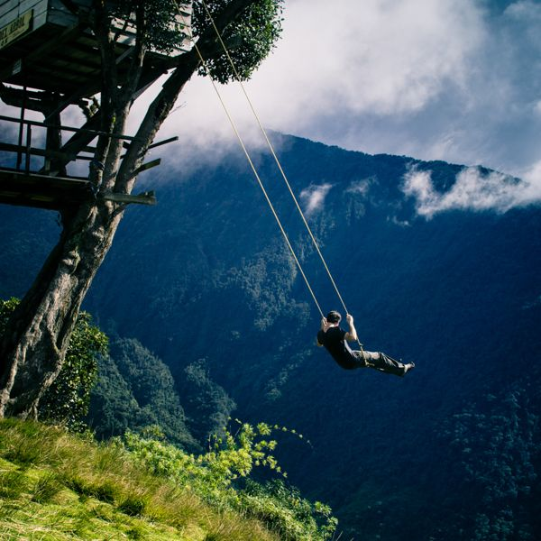 The Swing at the End of the World, A Treehouse Swing in Ecuador With a Stunning View