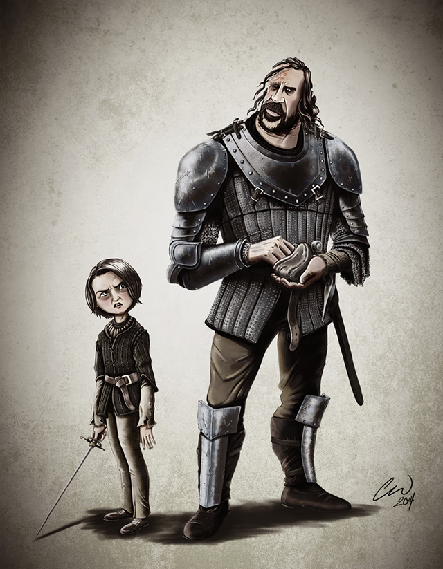 Clegane and Stark