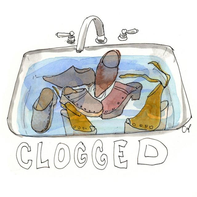 Clogged