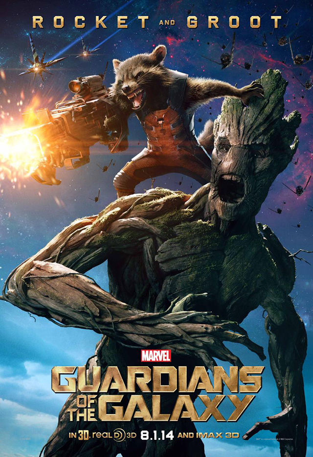 Rocket Raccoon and Groot