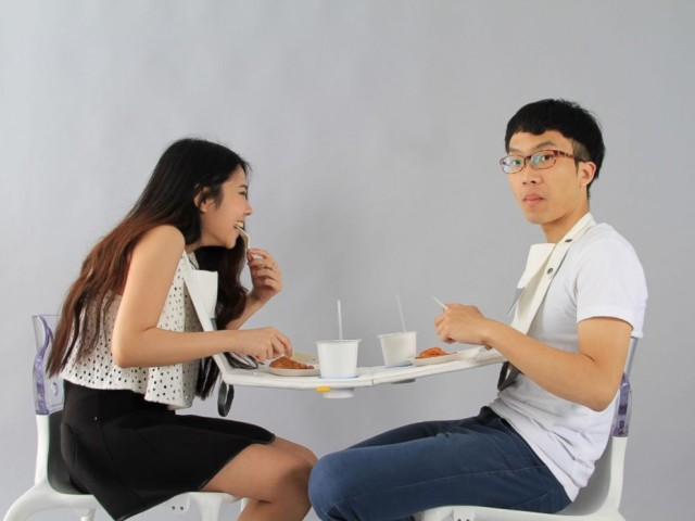 Napkin Table