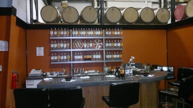 J&L Distilling Tasting room