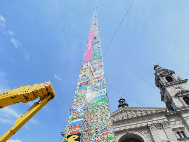 World's Tallest LEGO Tower