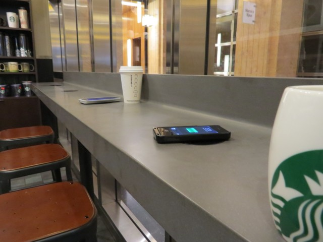 Starbucks Wireless Charging