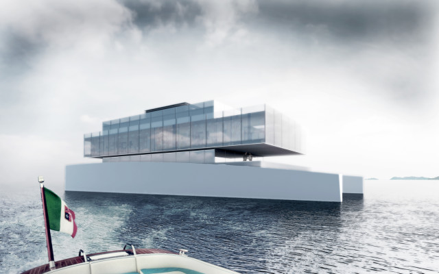 GLASS, A Minimalist Luxury Yacht Concept Inspired by
