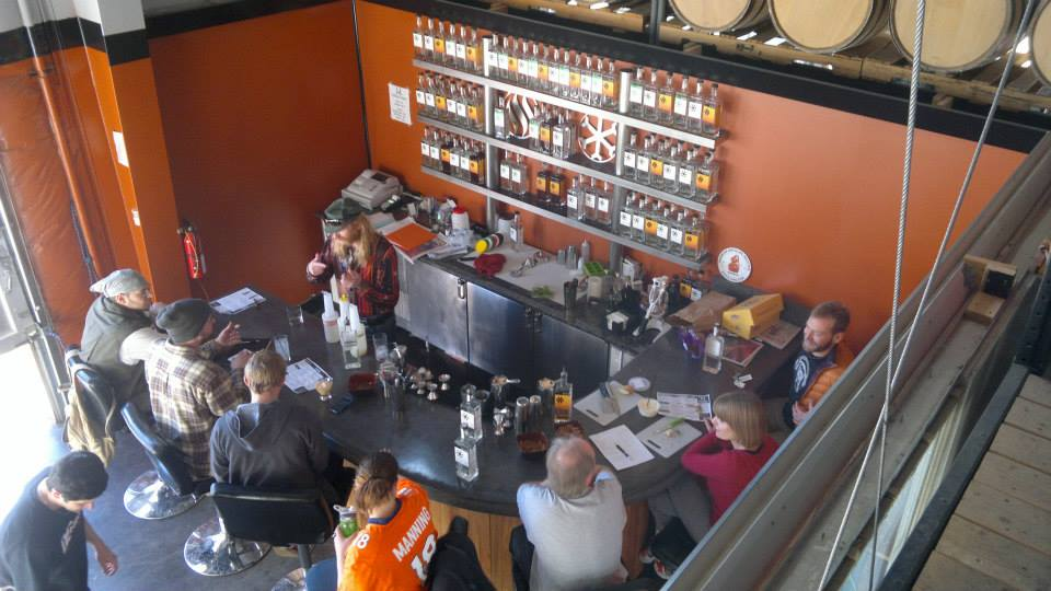 Tasting Room With Patrons