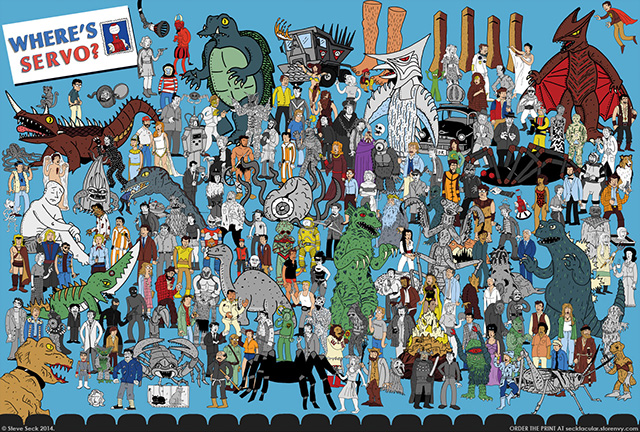 Where's Servo?, A Where's Waldo-Style Poster Featuring Characters ...