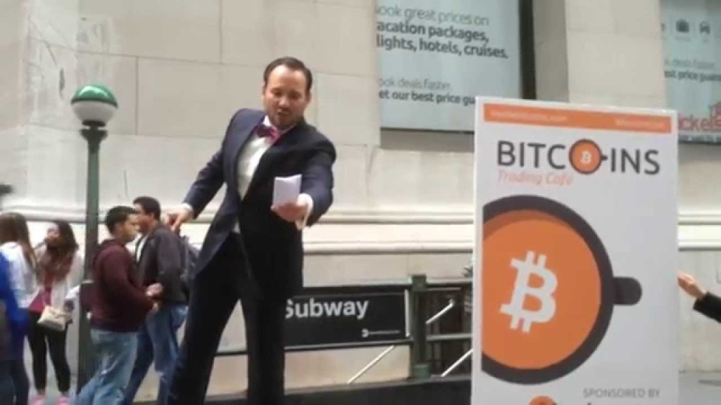 Bitcoin auction taking