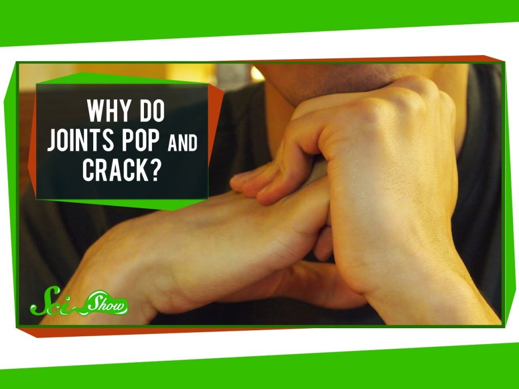 A Quick Explanation As To Why Joints Pop and Crack