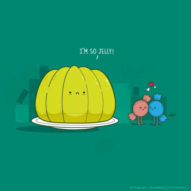 Artist Nabhan Abdullatif Illustrates Clever Visual Puns Using Household Objects And Creatures