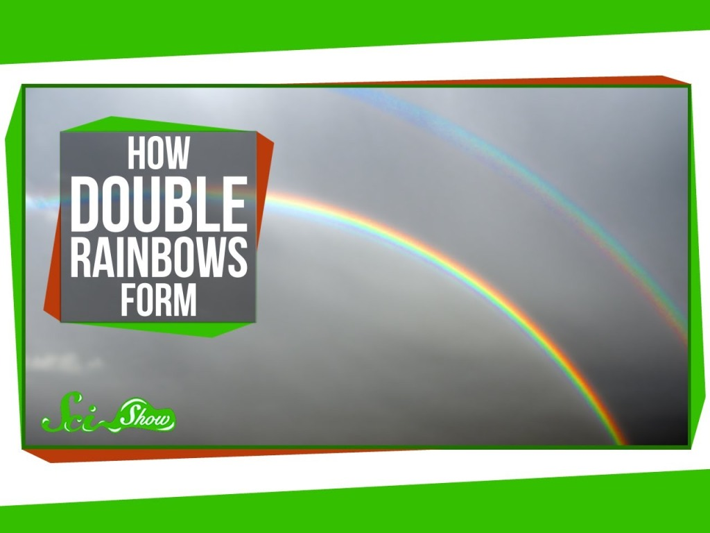 Actor LeVar Burton Explains How Double Rainbows Form