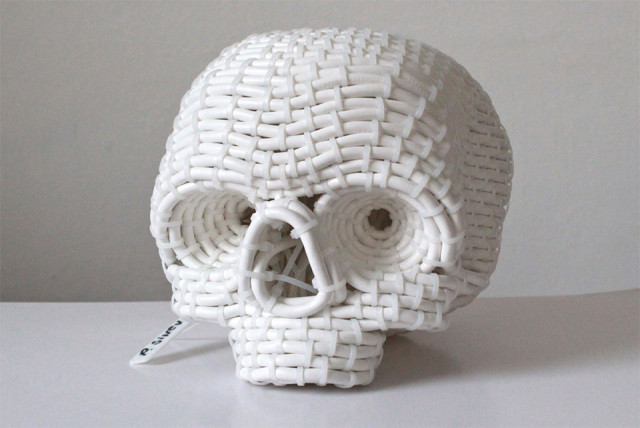 Delightful Cable and Zip Tie Sculptures by Pavel Sinev