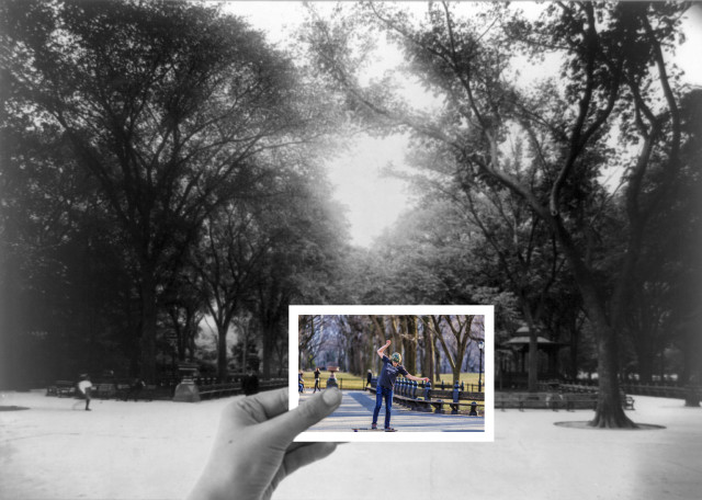 Then and Now Composite Photo Series by Samantha Decker