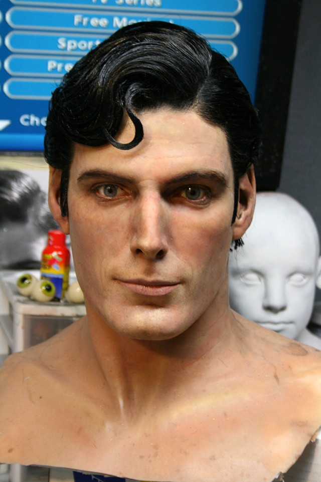 CHRISTOPHER REEVE SCULPTURE