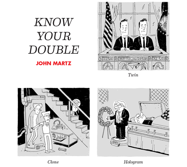 Know Your Double by John Martz