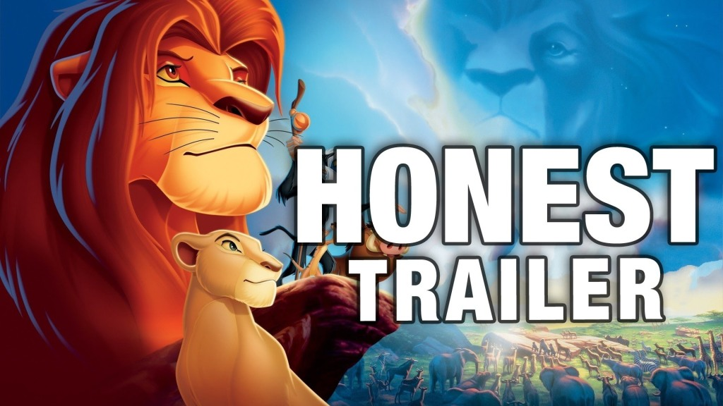 Honest Movie Trailers – The Lion King by Screen Junkies and AVbyte