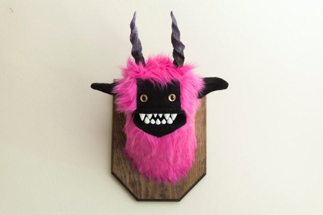 Pink Astral Beast Trophy
